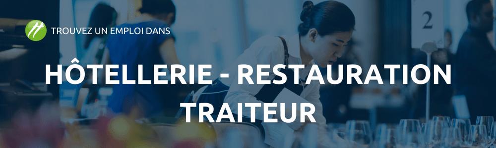 secteur hôtellerie restauration et traiteur