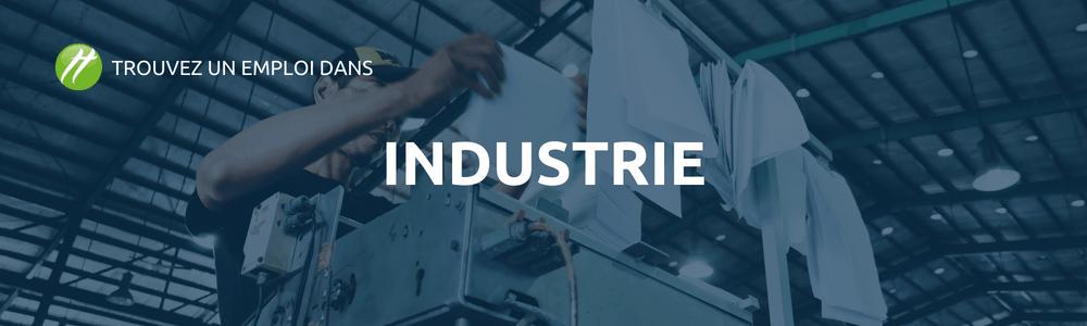 secteur de l'industrie