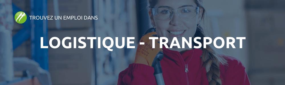 secteur logistique et transport